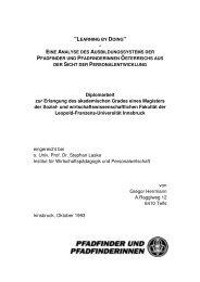 div Ausbildung ppoe_Personalentwicklung - Pfadfinder und ...