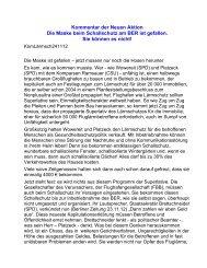 KomLärmsch241112 - Neue Aktion