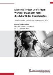 Jahresbericht 2005 - Johanneswerk