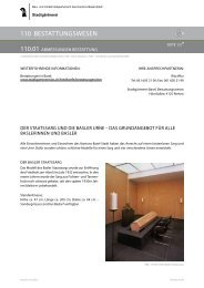 110.01 Abmessungen Bestattung - Stadtgärtnerei - Basel-Stadt