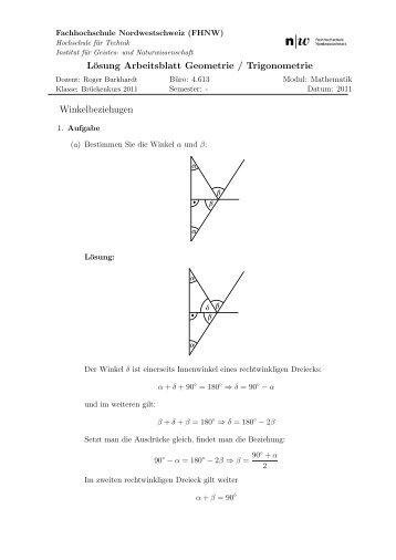 Quadratische Textgleichungen – Aus der Geometrie - Lösungen