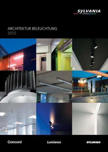 ARCHITEKTUR BELEUCHTUNG 2012 - Havells-Sylvania