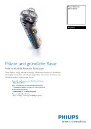 Leaflet HQ7160_17 Released Germany (German) High-res ... - Philips