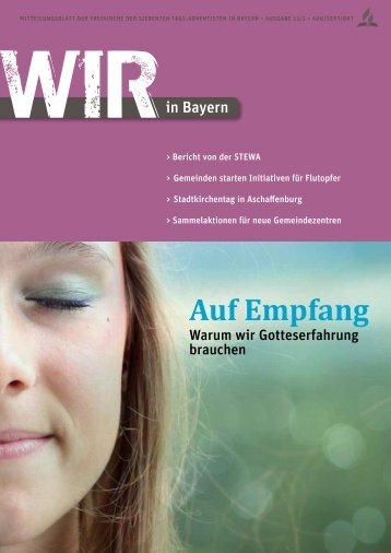 Ausgabe 3/13 - Bayern