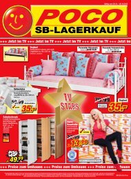 SB-Lagerkauf - Poco