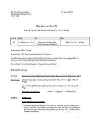Niederschrift - Braunschweig