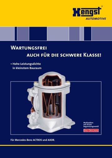 172.5 KByte, PDF - Hengst GmbH & Co. KG