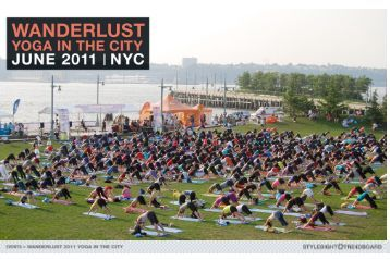 Wanderlust: Yoga in the city - Eclipse Textiles