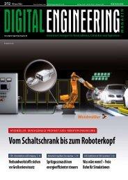 Vom Schaltschrank bis zum Roboterkopf - Digital Engineering ...