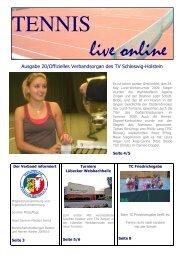 Tennis Live Online 20 - Tennisverband Schleswig-Holstein