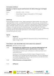 Stromtanken erleichtern Workshop zur Optimierung der ...