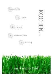 Kochbuch - auf Rainers und Jasmins Homepage