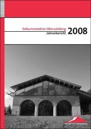Dokumentation Obersalzberg Jahresbericht 2008