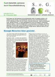 Storch und Giraffe Die sieben Fitmacher – Storch und ... - Kreuzbund