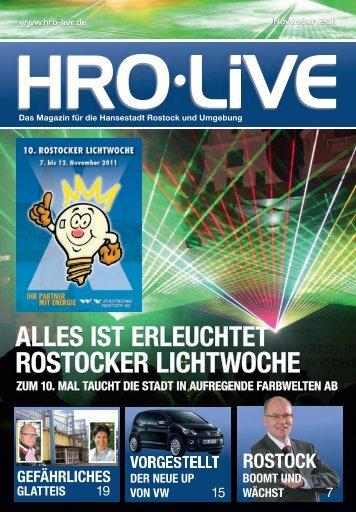 rostocker lichtwoche - HRO·LIFE - Das Magazin für die Hansestadt ...