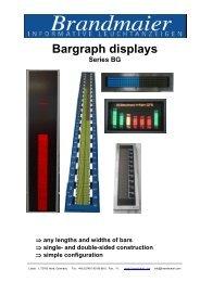 Bargraph displays (PDF 385 KB)