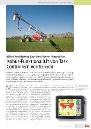 Isobus-Funktionalität von Task Controllern verifizieren - Vector