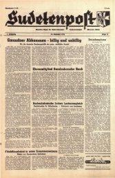 Ausgabe 23 - Sudetenpost