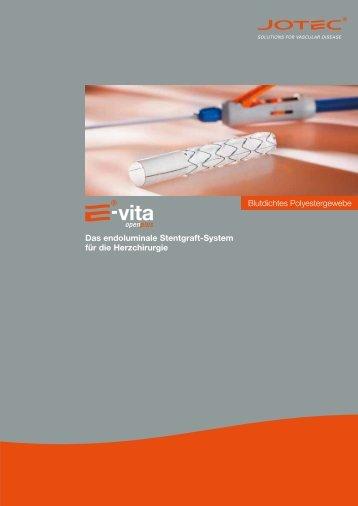 Das endoluminale Stentgraft-System für die Herzchirurgie ...