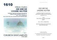 DIE KIRCHE, UNSERE MUTTER - Apostolische Dokumente