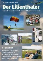 IN DIESEM HEFT: - lilienthaler-online