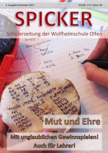 Ausgabe 3 - Wolfhelmschule
