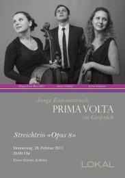 Programm PDF - Prima Volta