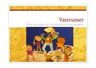 Vaterunser - GENERATIONENHAUS Wilhelmsburg e.V.