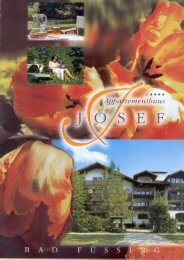 Download Prospekt (PDF 2.108 KB) - Appartementhaus Josef