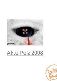 Akte Pelz 2008 - Schweizer Tierschutz STS