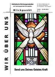 Wir über uns 8, Mai 2012 - Ulm-basilika.de