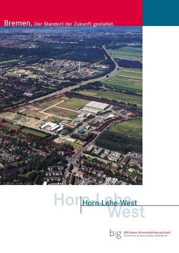 Gewerbegebiet Horn-Lehe-West - Chronik Horn-Lehe