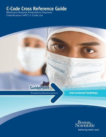 C-Code Cross Reference Guide - Boston Scientific