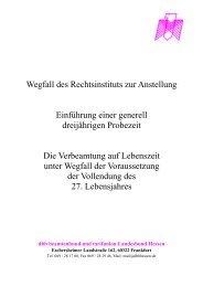 DBB-Info: Wegfall des Rechtsinstituts zur Anstellung II - Dlh-mr-bid.de