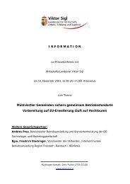 Vorbereitung auf EU-Erweiterung läuft auf Hochtouren. - TMG