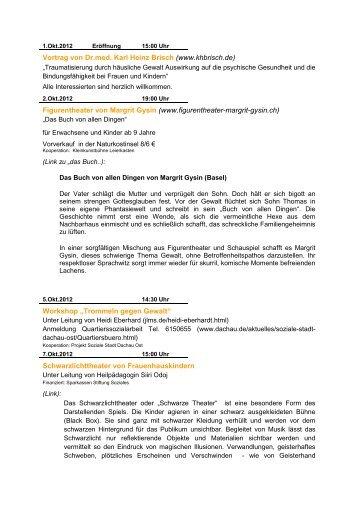 Vortrag von Dr.med. Karl Heinz Brisch (www.khbrisch.de ...