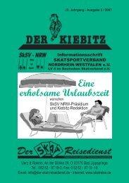 Eine erholsame Urlaubszeit - Deutscher Skatverband e.V.