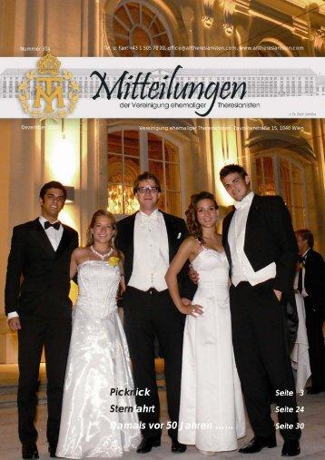 Mitteilungen Dezember 2010 - Alttheresianisten