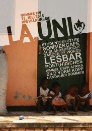 Download der Ausgabe La.Uni160 als PDF