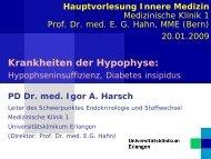 3. HauptVorlInnMed Krankheiten der Hypophyse kurz - Medizin 1 ...