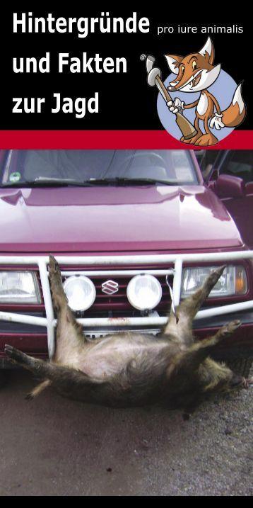 Flyer Jagd allg.indd - pro iure animalis