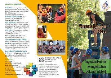 Veranstaltungen 2013 - Dekanat Alsfeld
