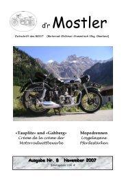 Mostler 8 2007 - Motorrad-Oldtimer-Stammtisch Vorarlberg