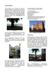 Friedrichshagen Friedrichshagen ist ein Stadtteil des Berliner ...