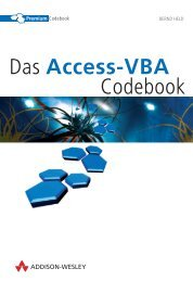 Das Access-VBA Codebook  - *ISBN ... - Addison-Wesley
