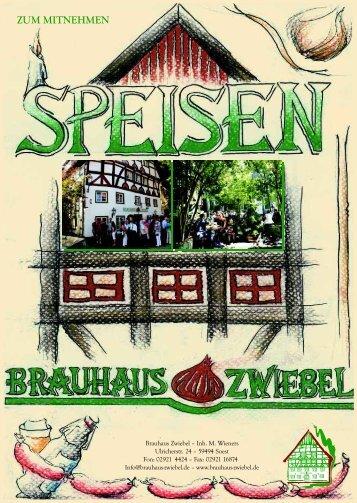 SOESTER - Brauhaus Zwiebel