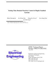 Download the PDF version - Electrical Engineering - University of ...