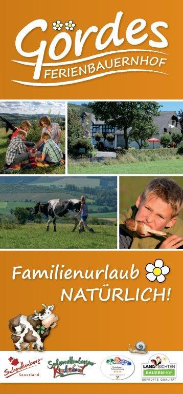 herunterladen - Bauernhof Gördes