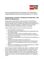 Klub der sozialdemokratischen Gemeinderätinnen und ...