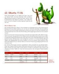 42. Ubuntu 11.04 - Addison-Wesley